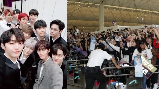 Wanna One私生饭跟机拍到偶像就退票,导致航班延误1小时被网友骂翻!插图