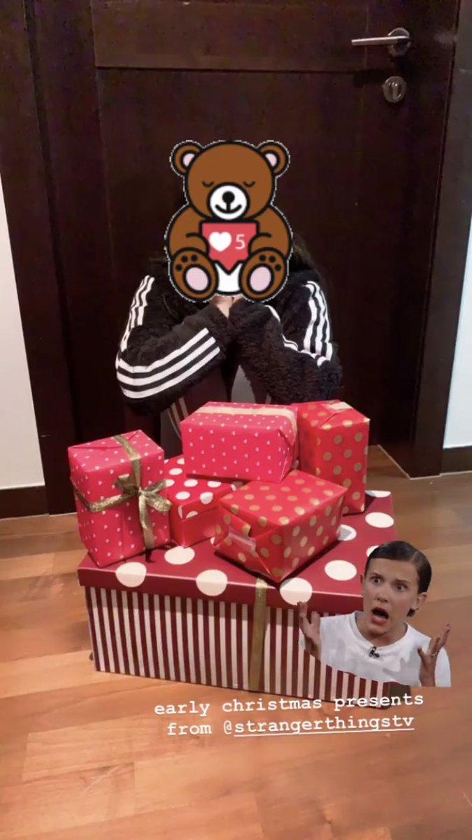 人生胜利组BLACKPINK成员Jennie,就连《怪奇物语》主角也送她圣诞礼物!插图4