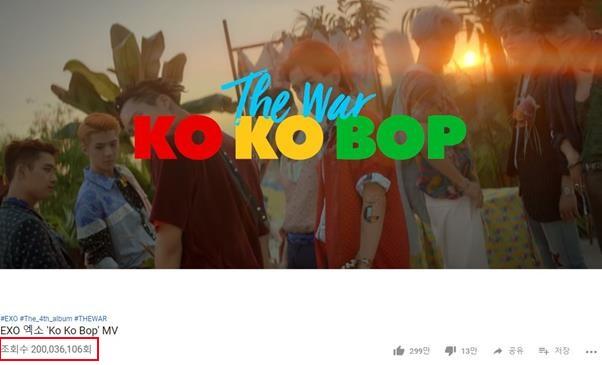 「 韩粉日记1月26日」YG时隔四年推出全新男团,EXO第三支突破两亿MV诞生!插图1