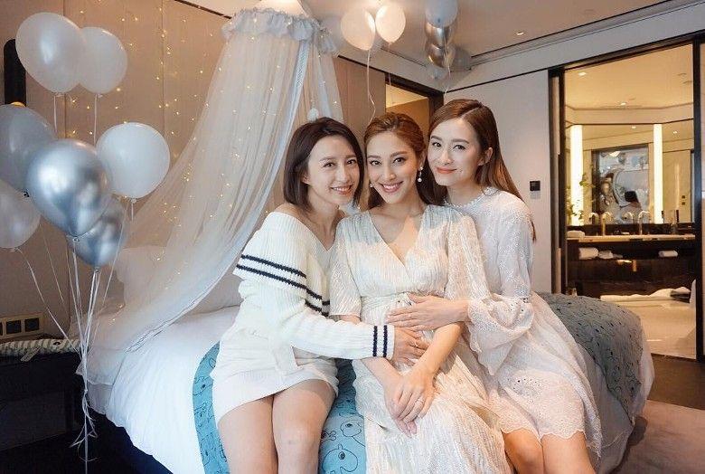 陈凯琳怀孕大办派对与好姐妹相聚,还透露了Baby的大秘密!插图2
