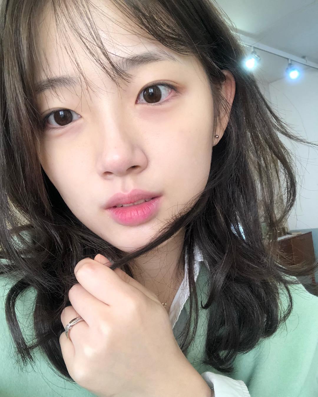 秀智+雪莉+雪莉?因为明星脸这位韩国大学生爆红,进军演艺圈指日可待!插图2
