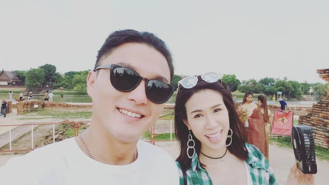 TVB男星杨明女友生日,两人疯狂秀恩爱!网友:赶快结婚吧!插图6