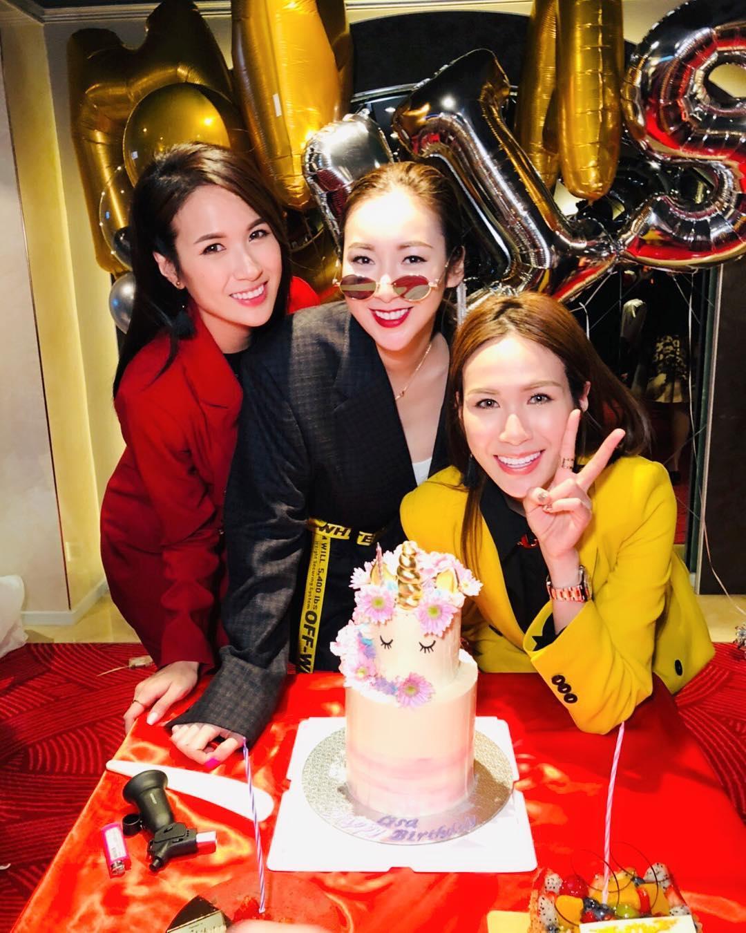 TVB男星杨明女友生日,两人疯狂秀恩爱!网友:赶快结婚吧!插图4