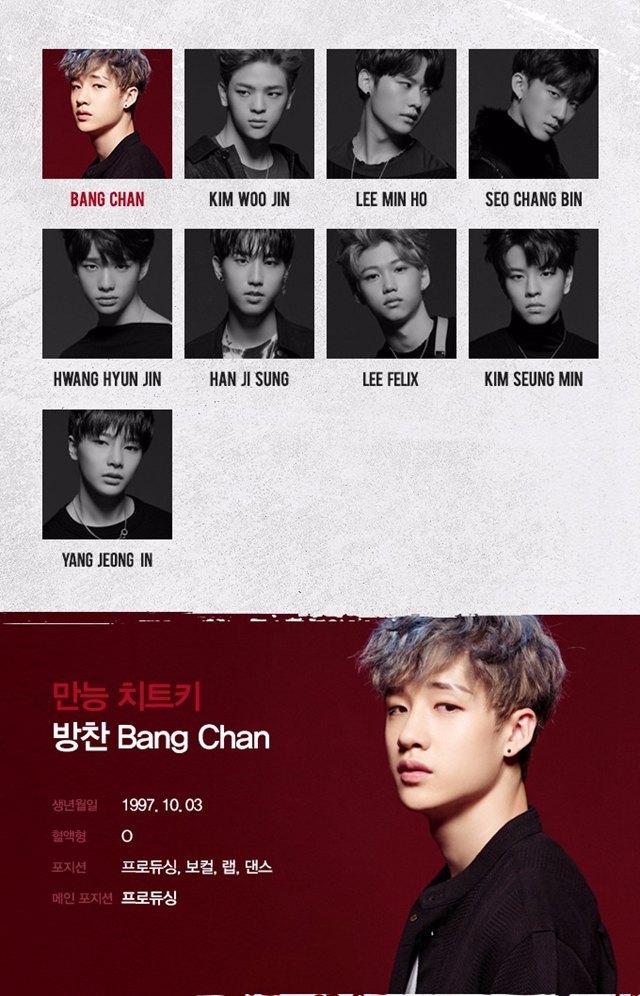 JYP新男团Stray Kids成员简介大公开,这介绍词是不是太肉麻夸张了!插图1