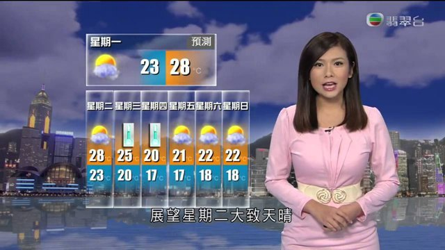 TVB新闻女主播大盘点,这5位美女女播你最喜欢哪个呢?插图15