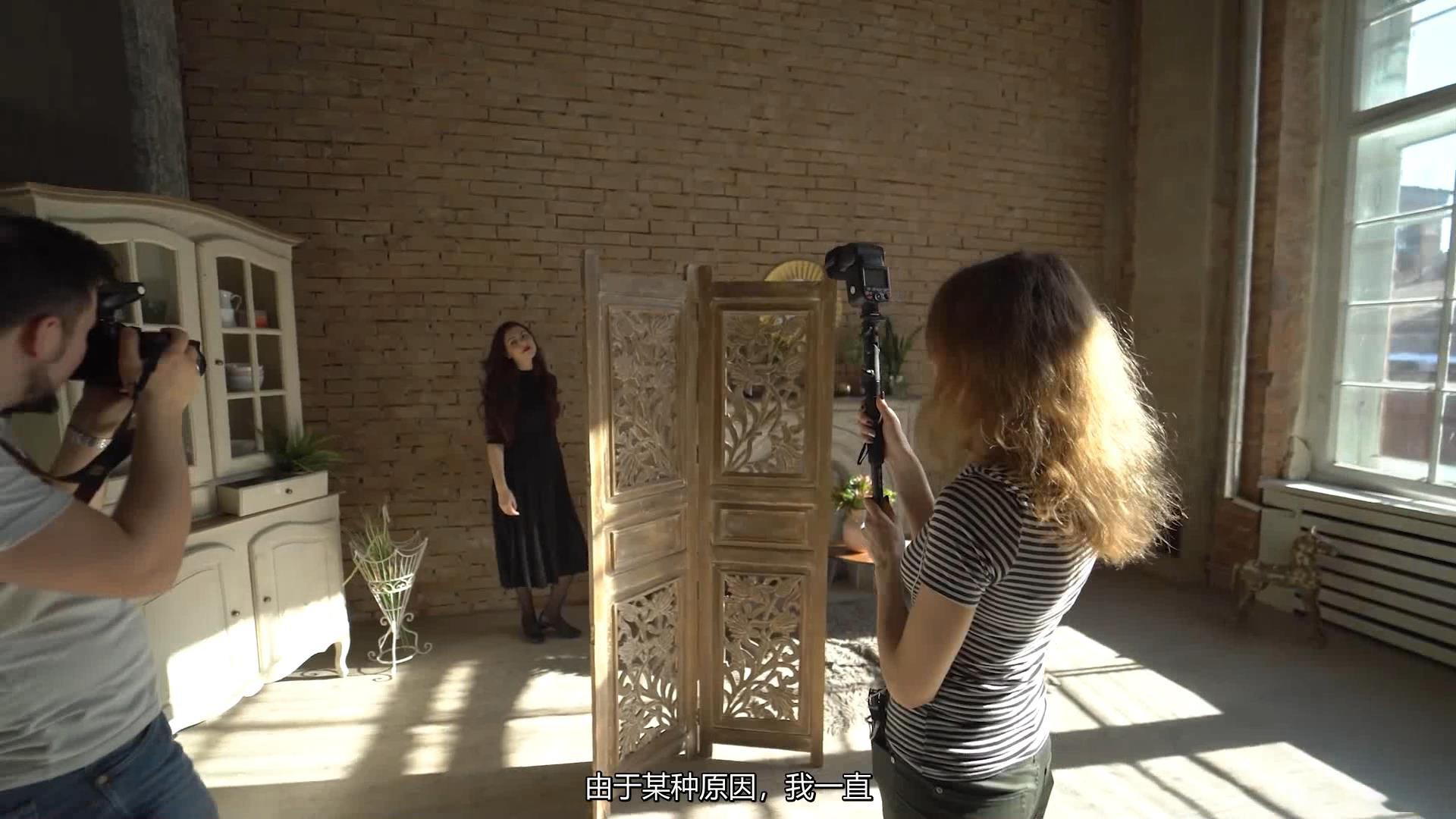 摄影教程_Alexey Gaidin实践30多种人造光闪光灯摄影布光教程-中文字幕 摄影教程 _预览图6
