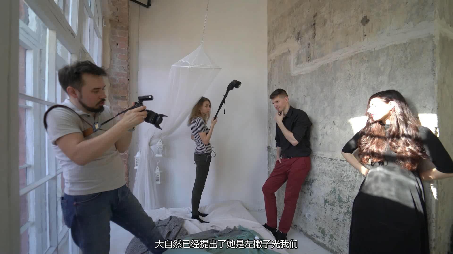 摄影教程_Alexey Gaidin实践30多种人造光闪光灯摄影布光教程-中文字幕 摄影教程 _预览图8