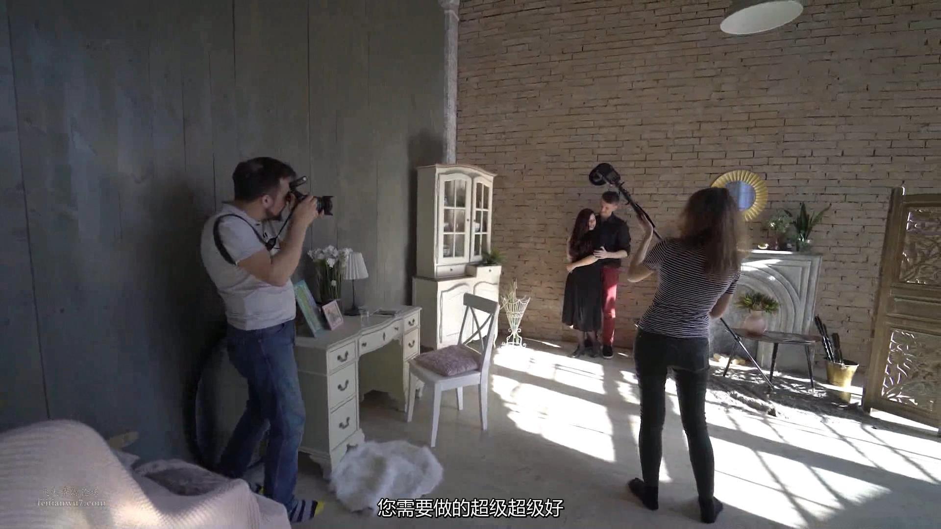 摄影教程_Alexey Gaidin实践30多种人造光闪光灯摄影布光教程-中文字幕 摄影教程 _预览图10