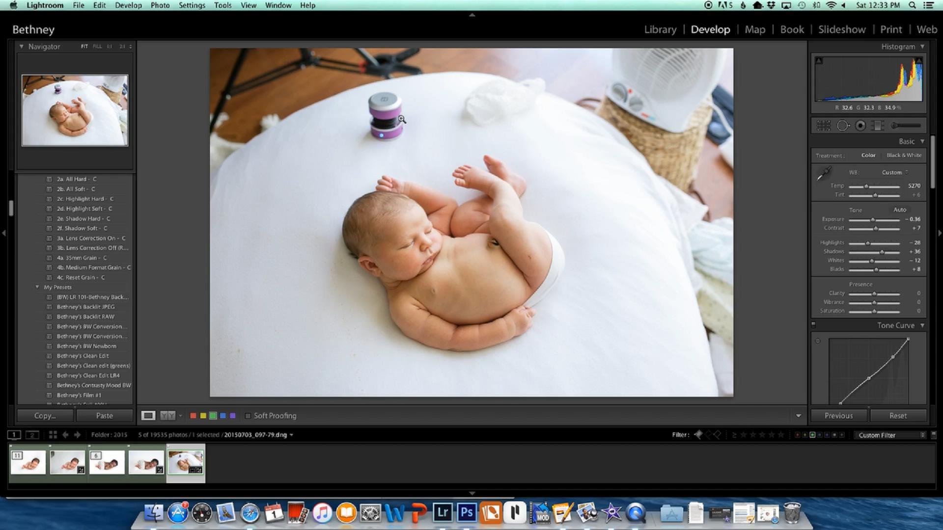 摄影教程_Bethney Backhaus 掌握新生儿摄影的极简主义风格教程 摄影教程 _预览图11