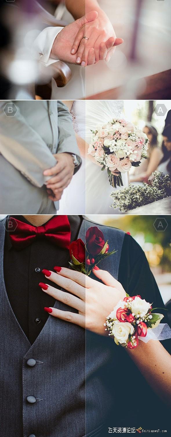 40组专业婚礼婚纱摄影后期Lightroom预设40 Pro Wedding Lightroom Presets Lightroo (2)