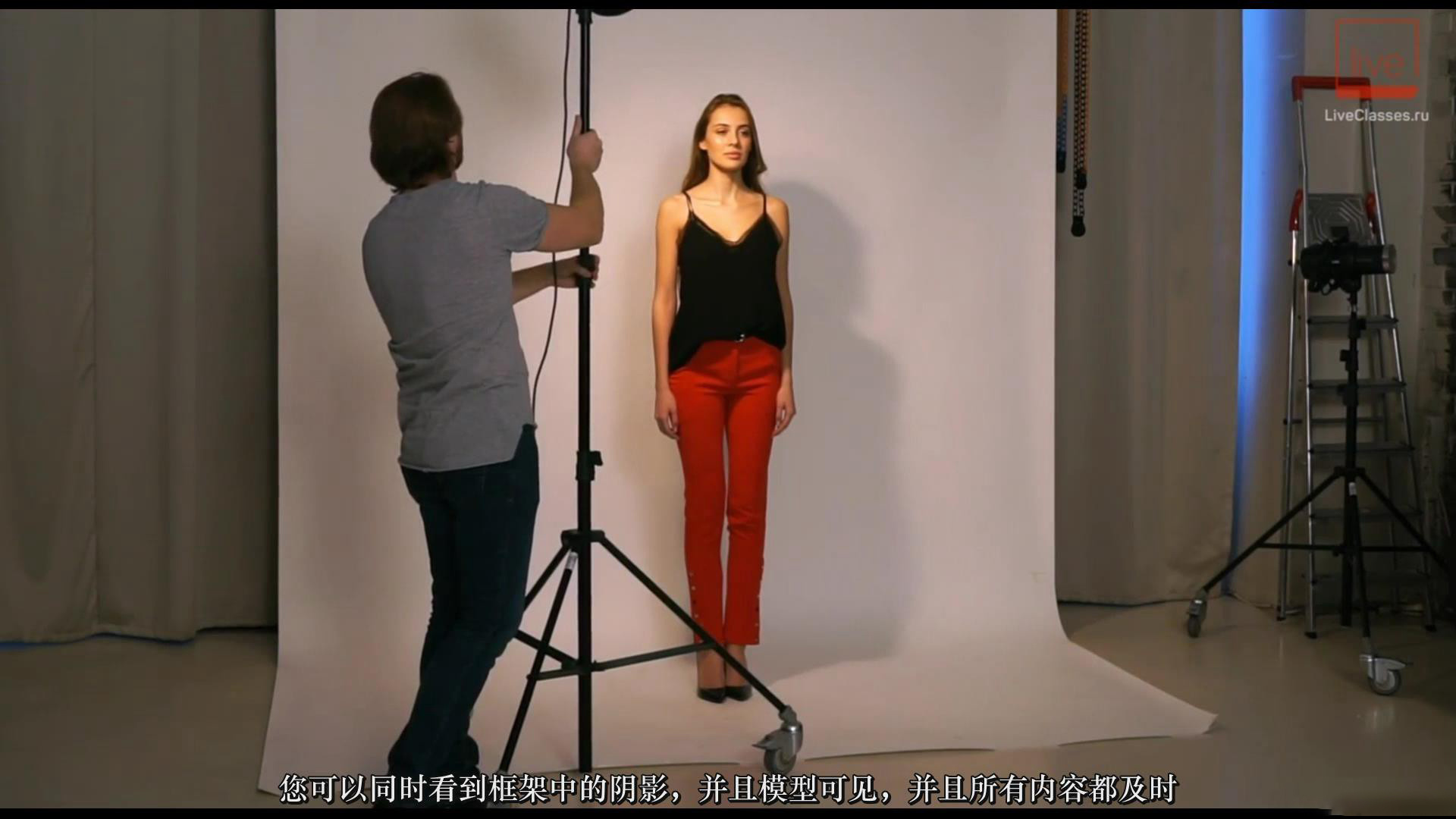 摄影教程_Liveclasses-Alexey Dovgulya使用强光或柔光拍摄酷炫工作室人像-中文字幕 摄影教程 _预览图3