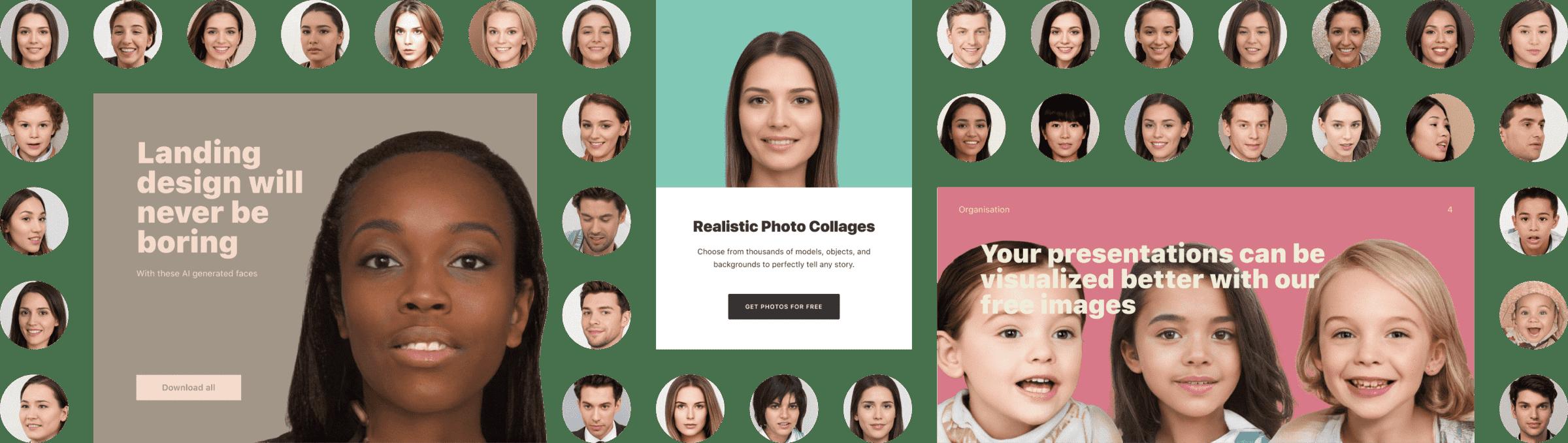 10万张不要肖像权的人脸照片