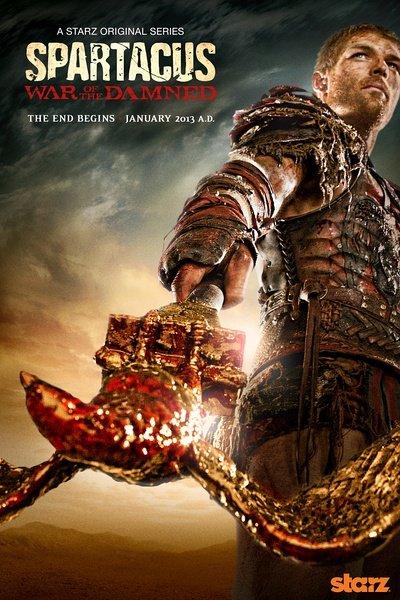 斯巴达克斯:诅咒者之战/亡者之役第三季