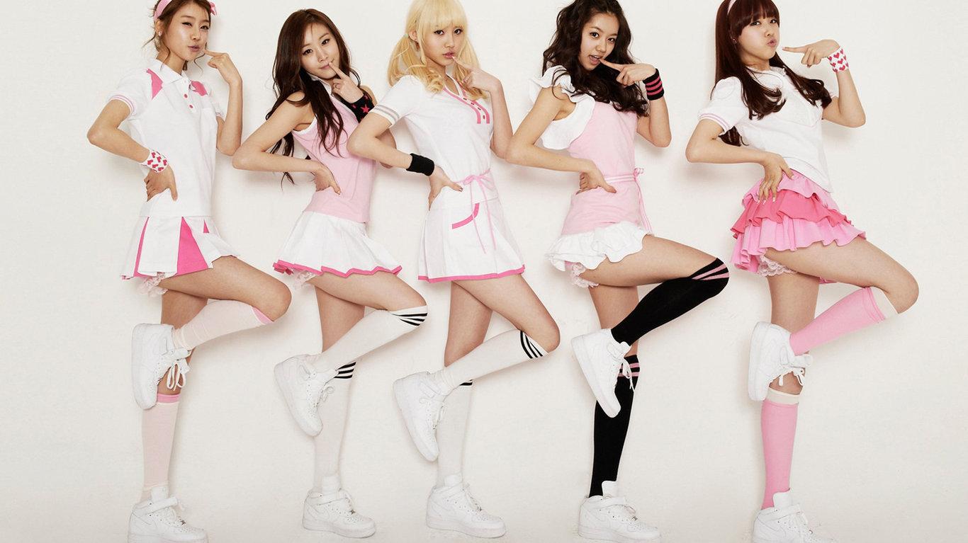 韩国女子团演唱会现场版