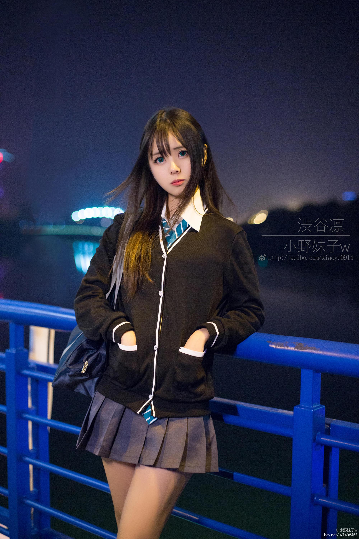 小野妹子w-偶像大师灰姑娘女孩(涩谷凛) [7P-4MB]作品 (1)