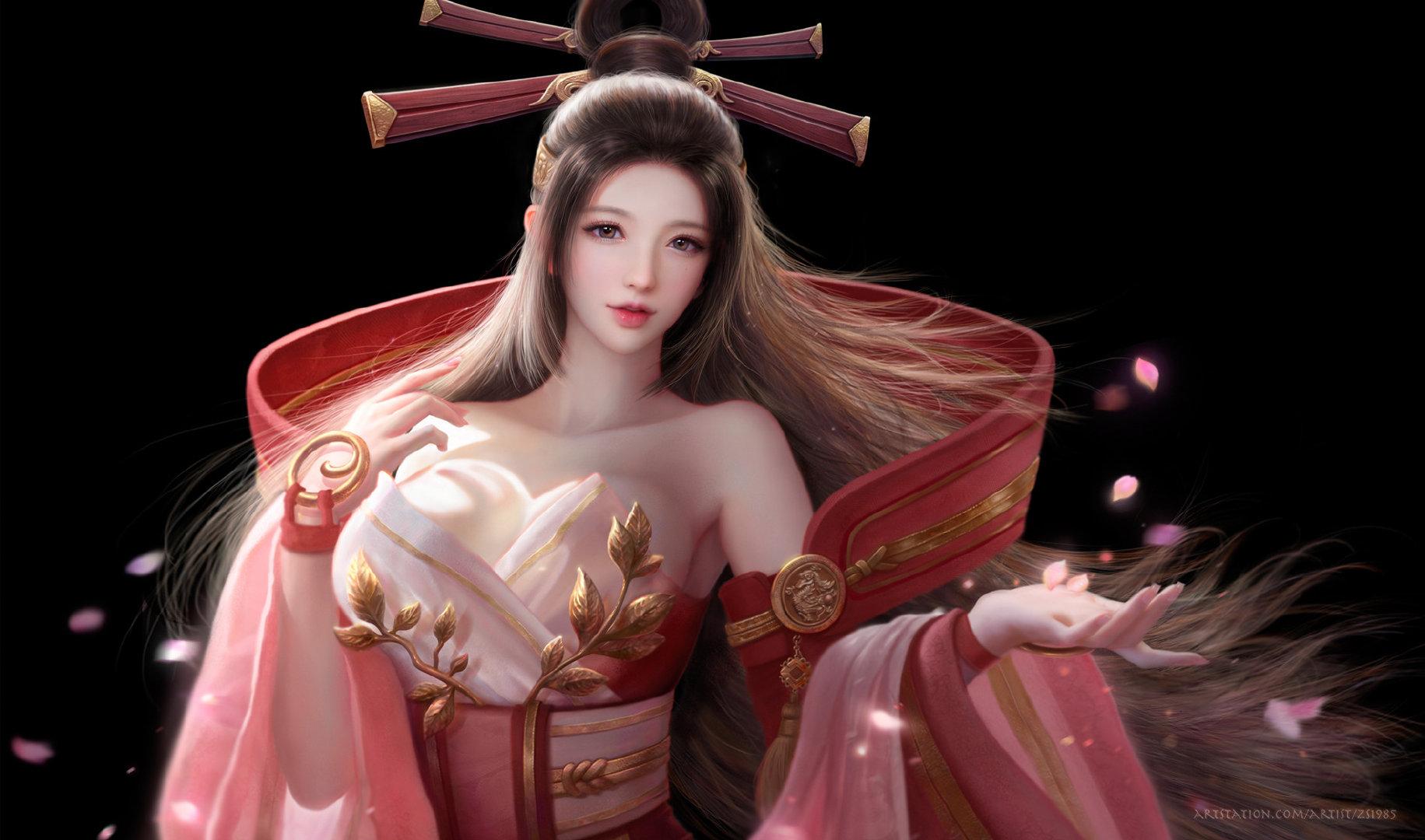 Ruoxin Zhang插画图片下载