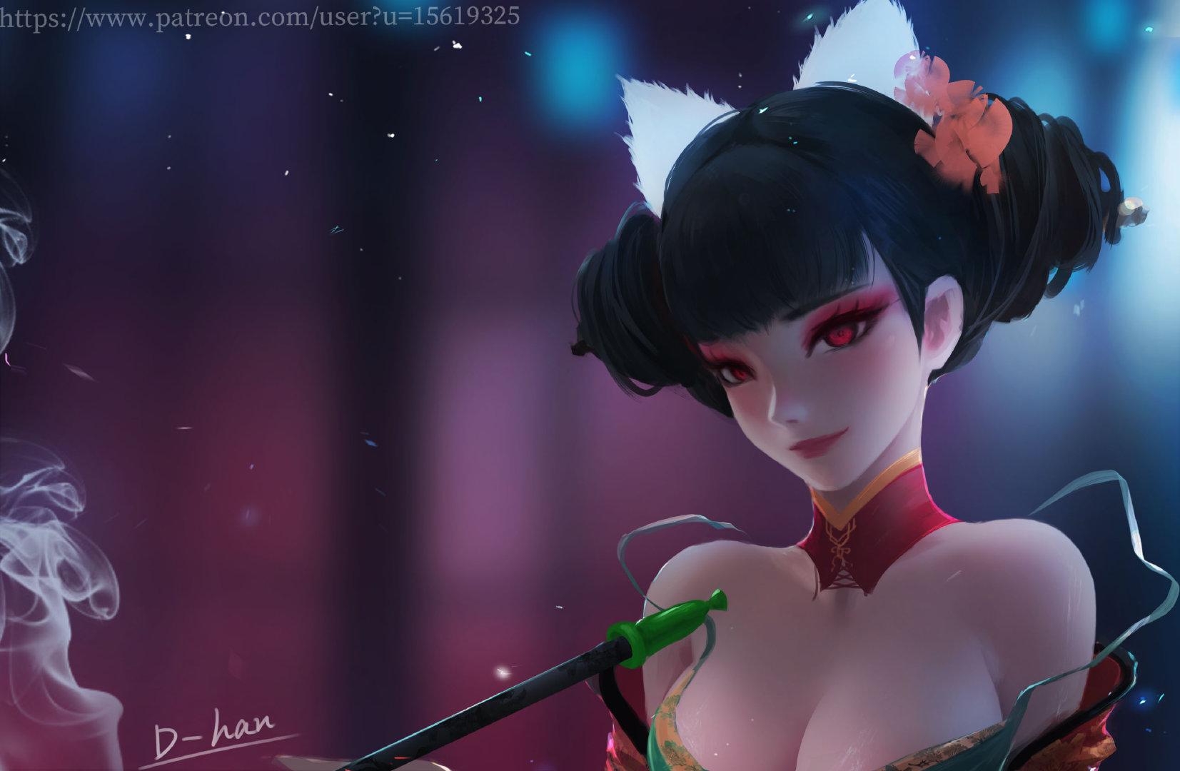 p站帝寒(d-han)is creating 绘画同人图下载