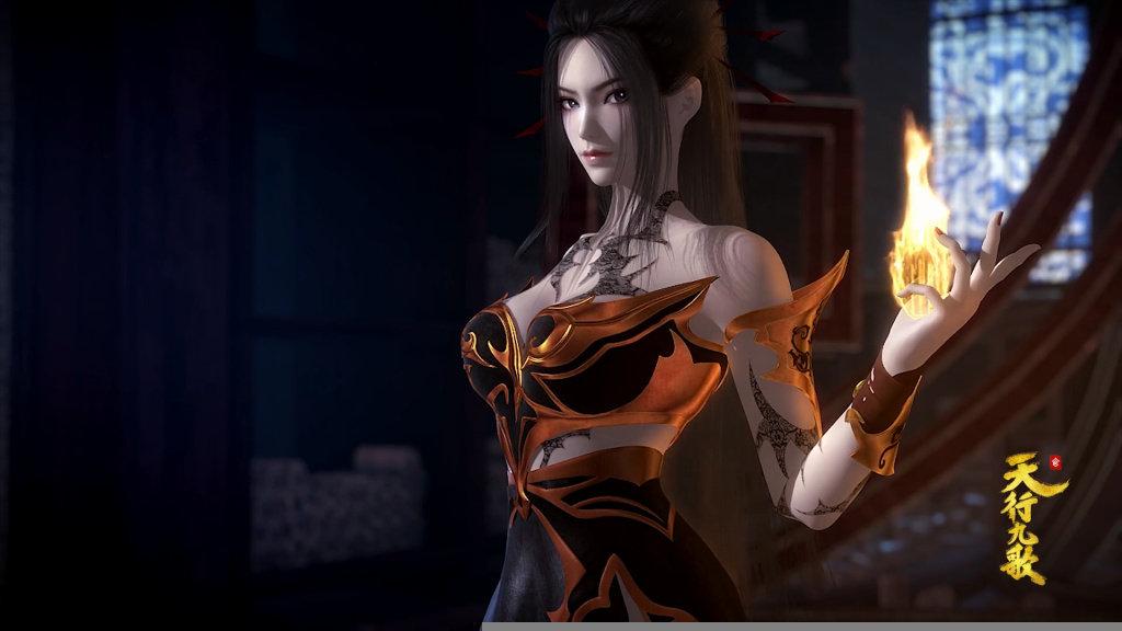 3D国漫天行九歌焰灵姬壁纸