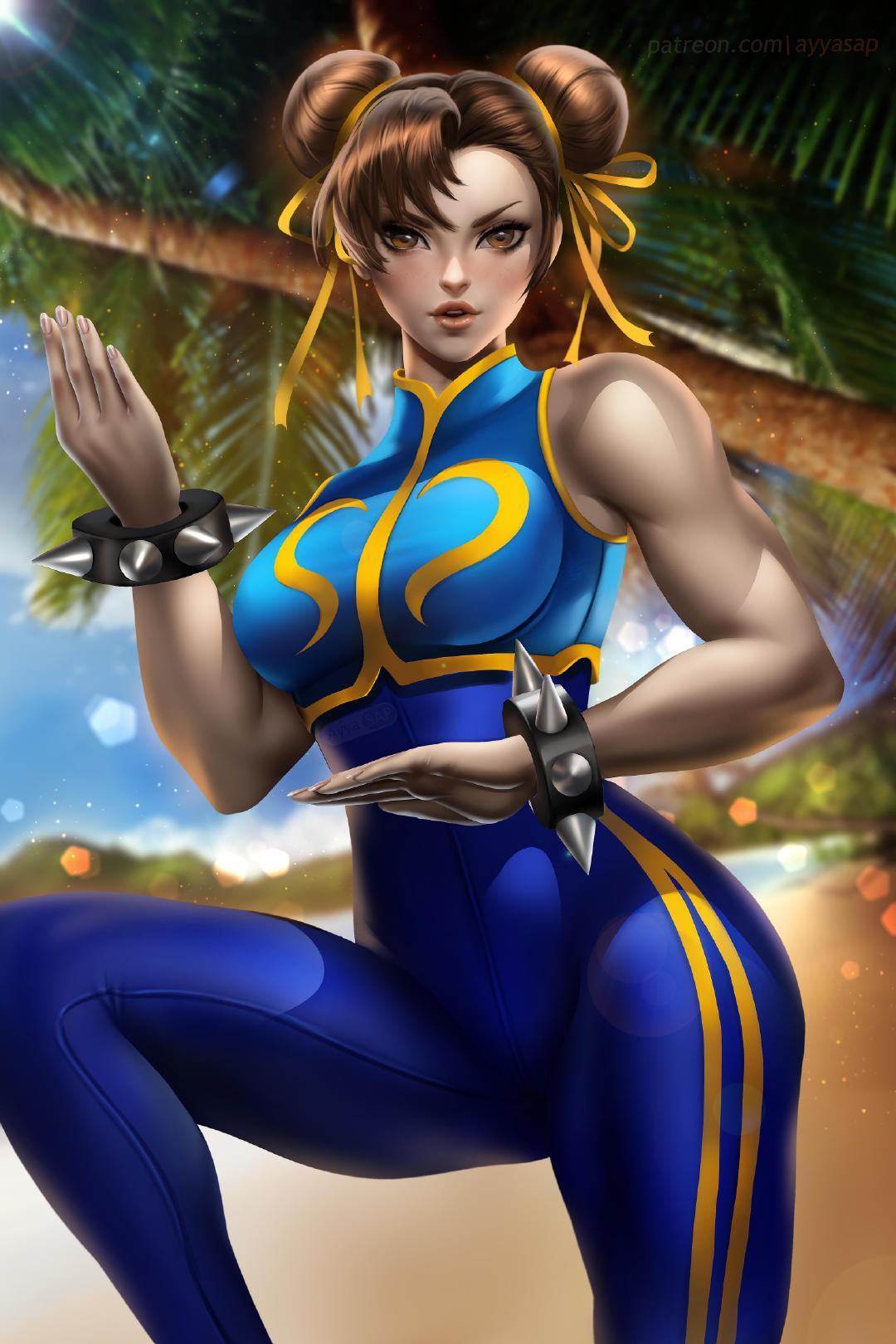 Chun-Li Ayyasap Street Fighter