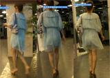 街拍:商场里遇到的连衣裙清纯少妇[31M]