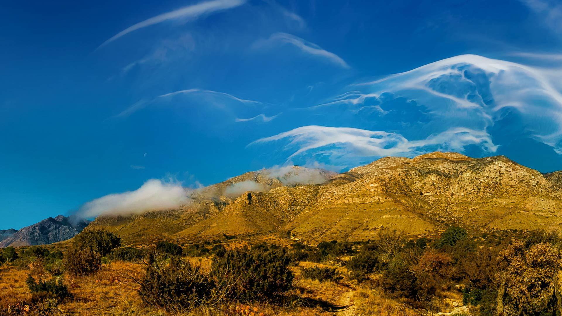 高山上的卷云