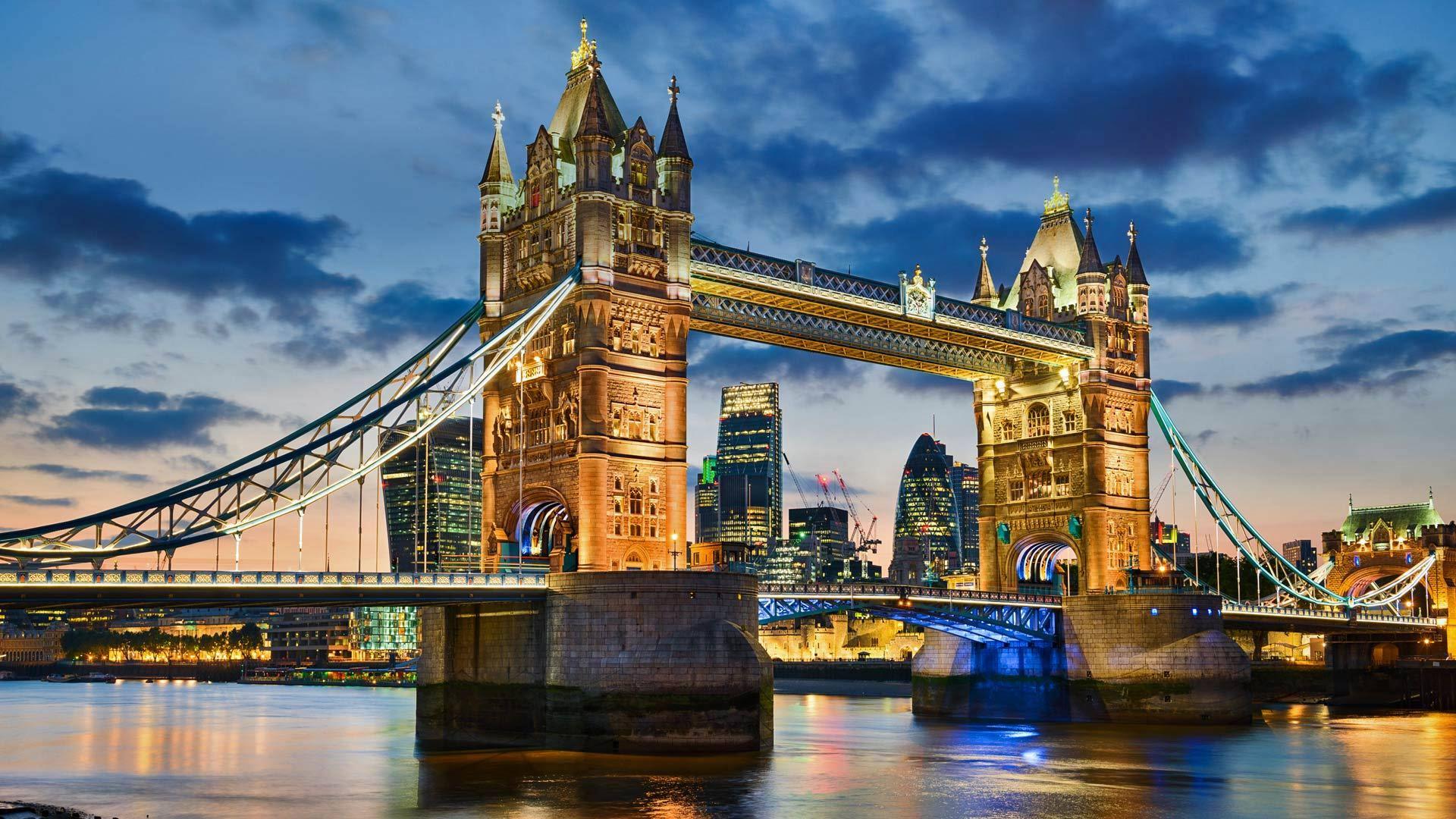 象征着伦敦正门的塔桥