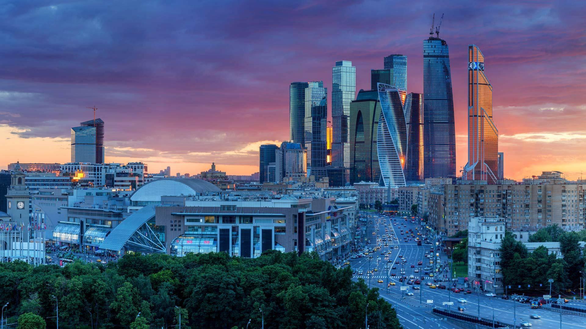 """莫斯科的""""华尔街"""""""