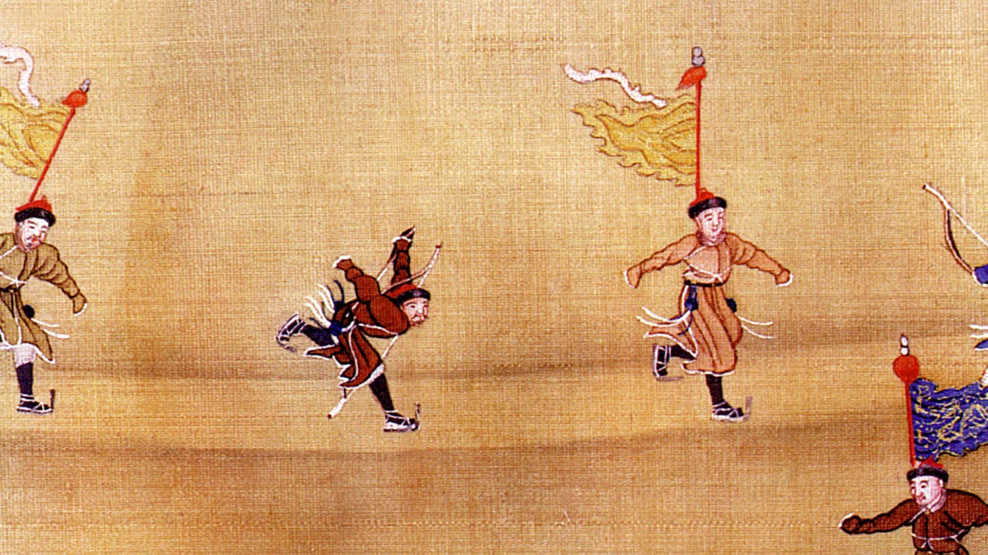 中国古代传统冰嬉