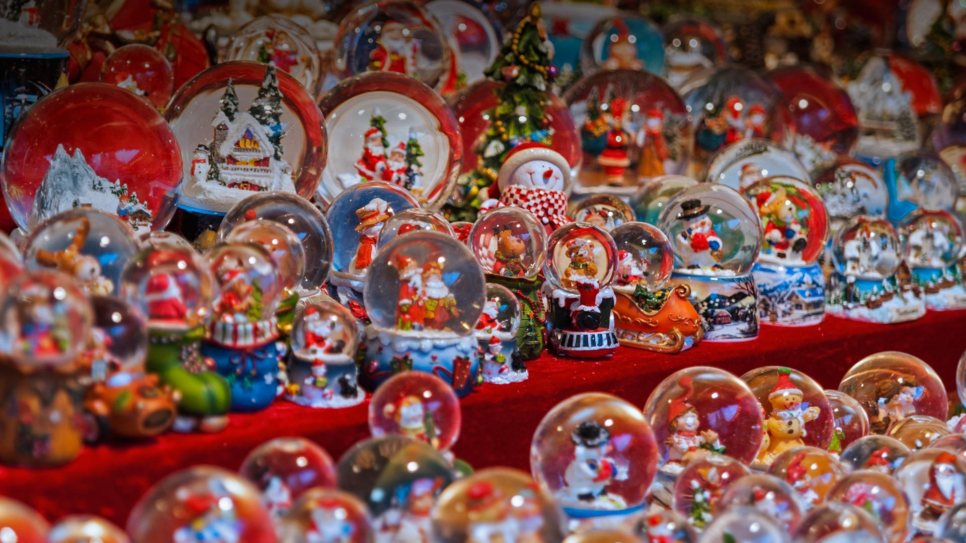 狂欢在圣诞集市