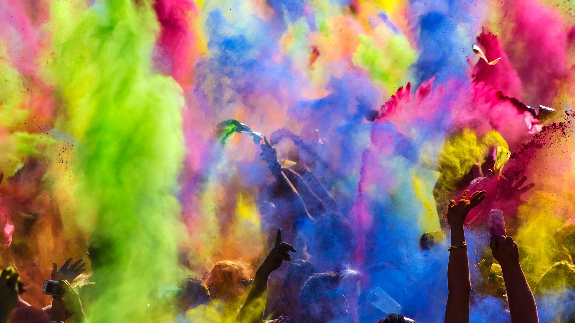 色彩的狂欢