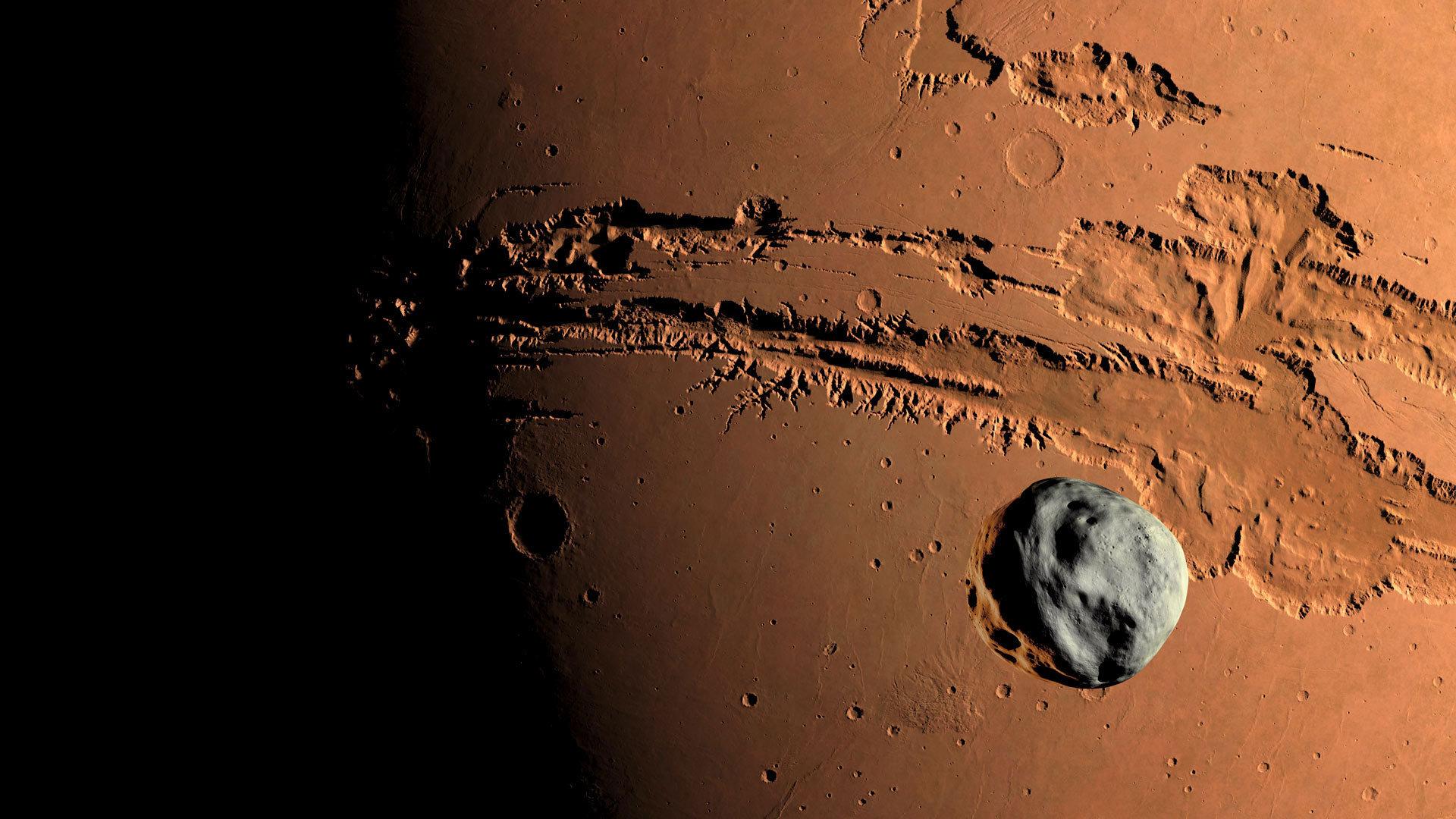 火星上的裂痕