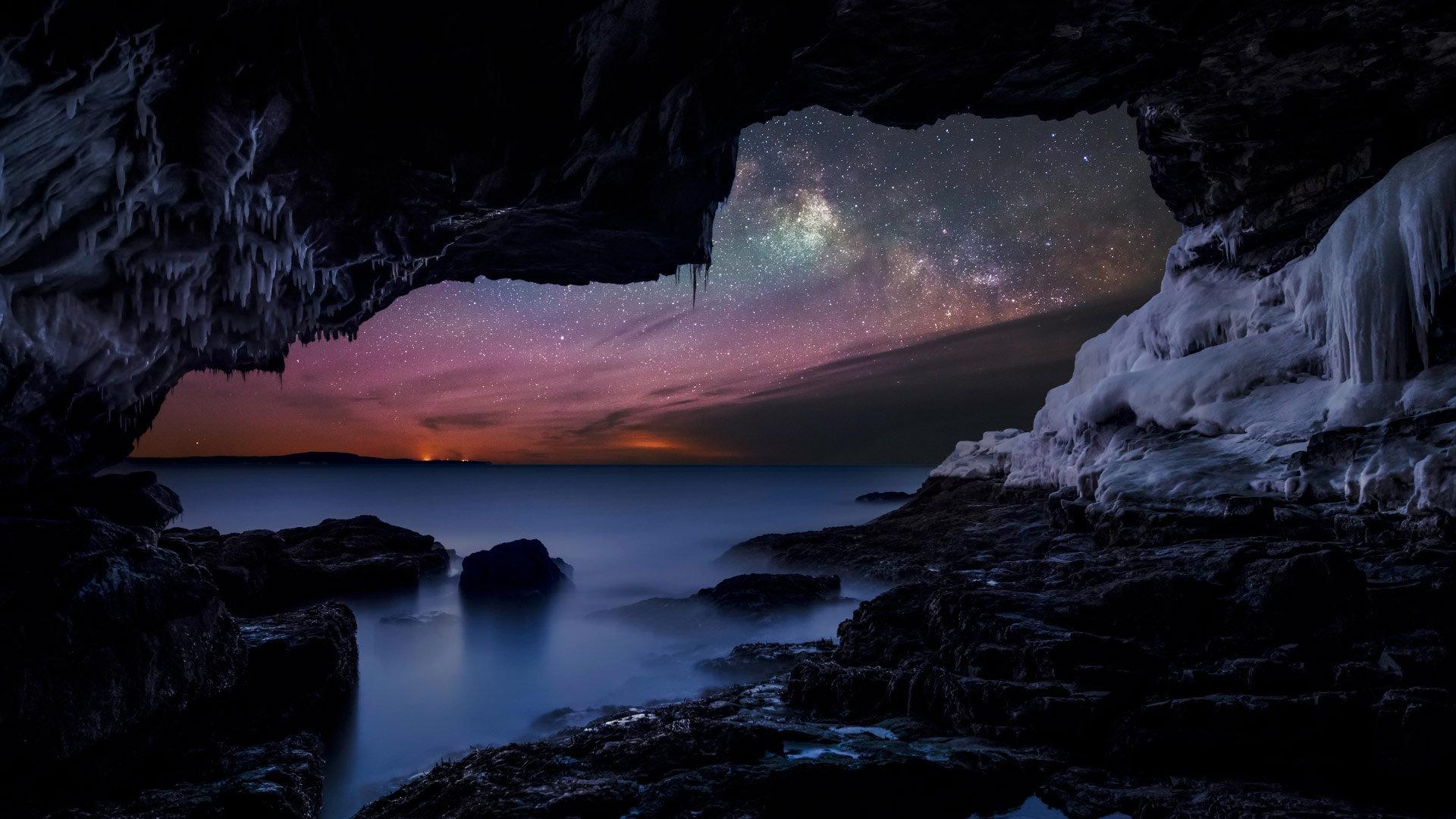 夜空中最亮的光带