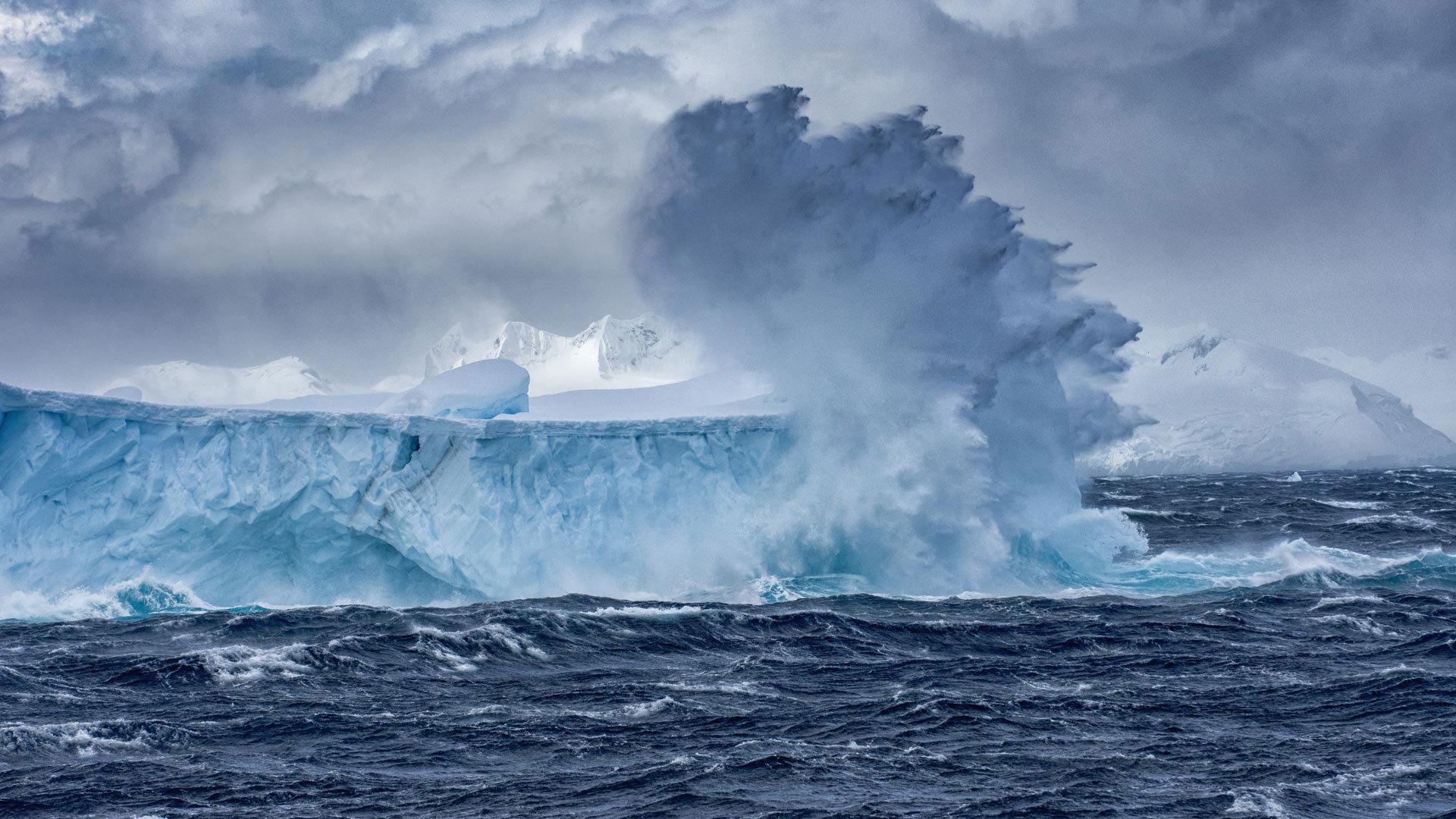 冰山的秘密