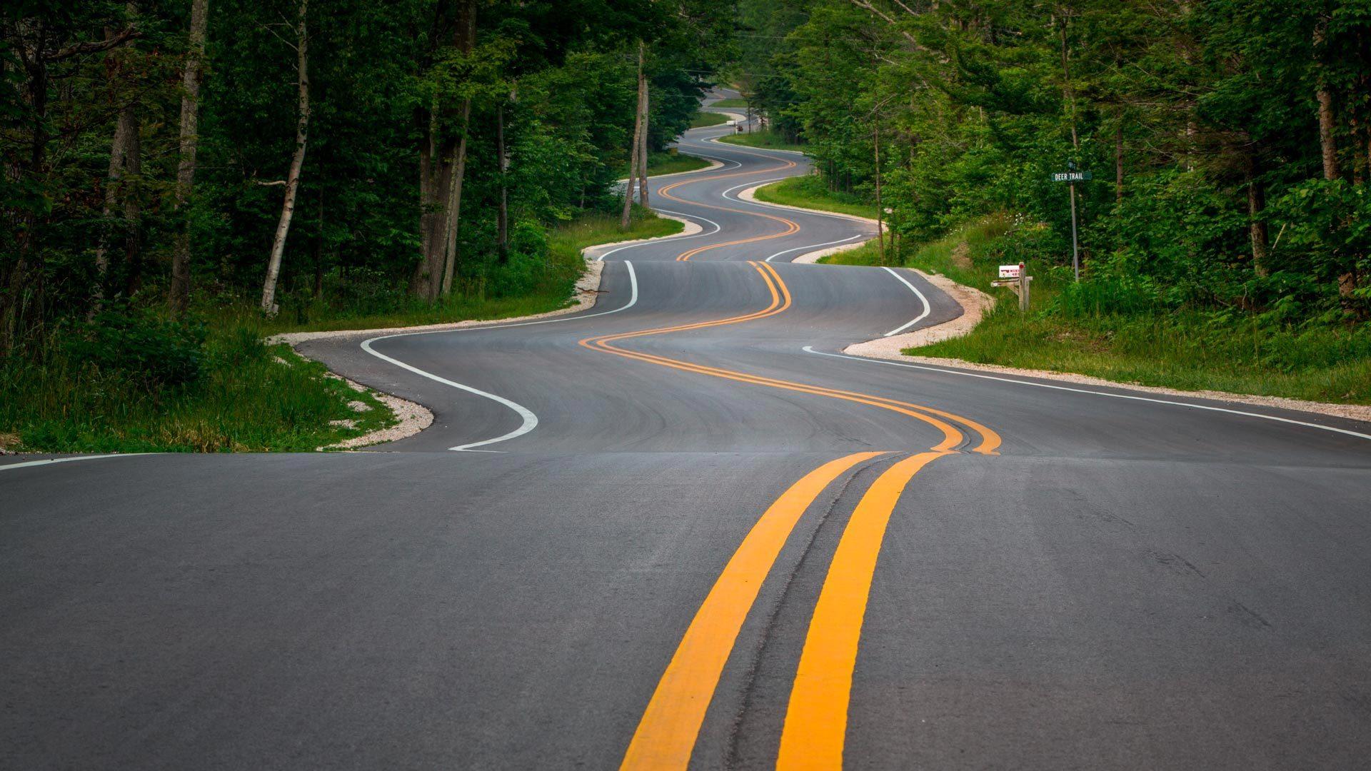 高颜值的景观公路