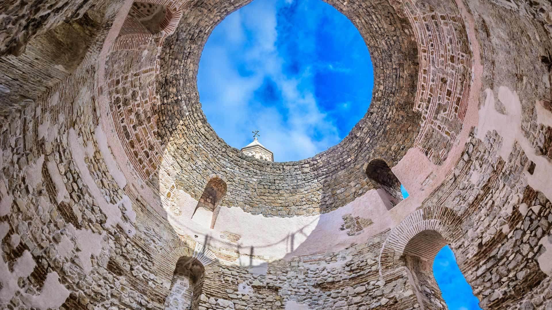 克罗地亚的古老地标