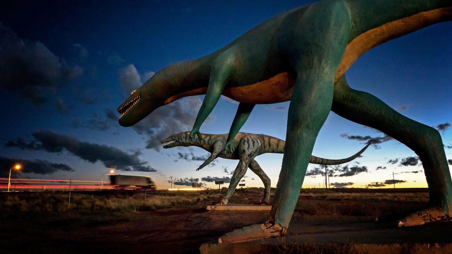 复活的恐龙帝国