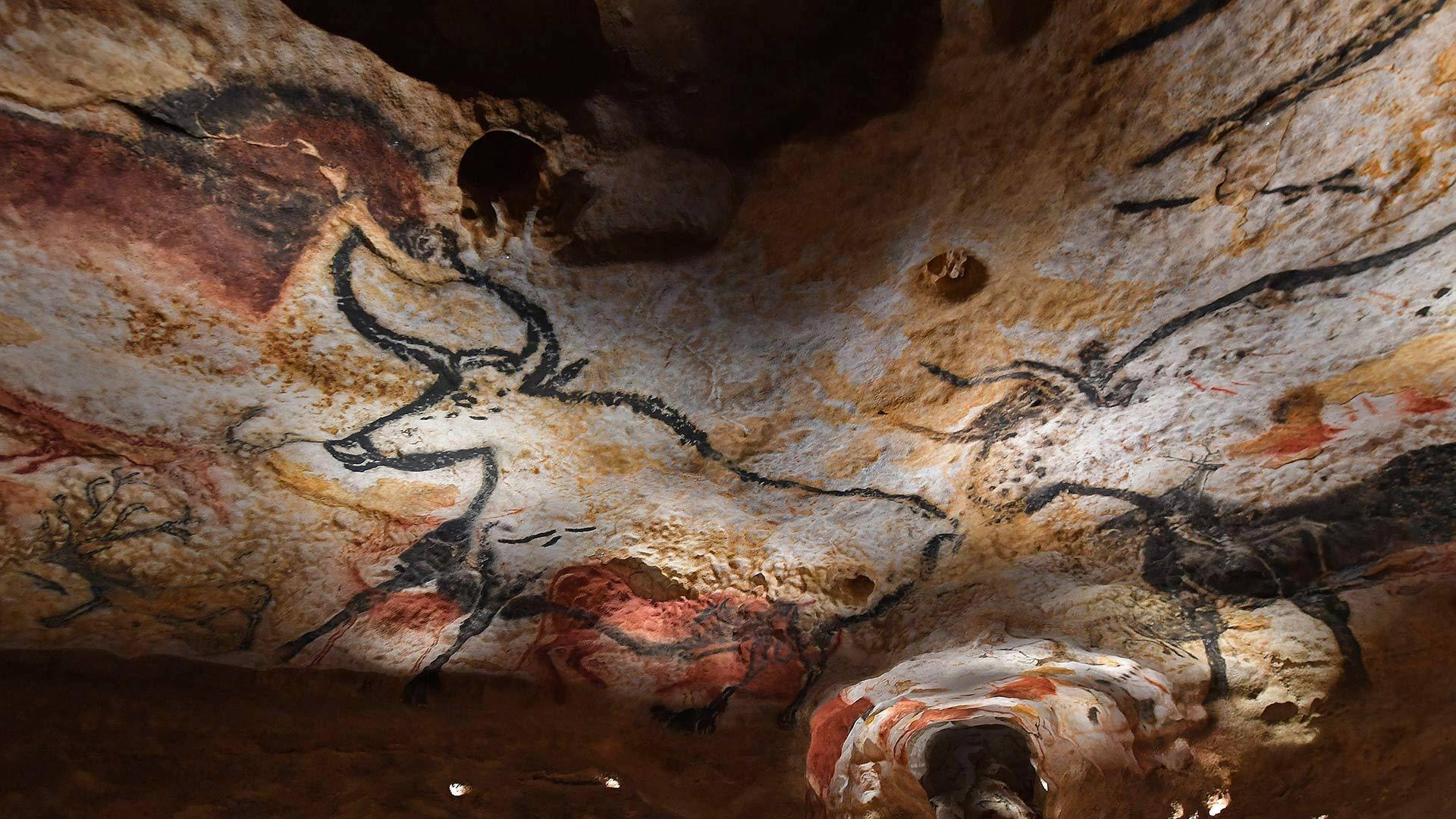 高科技与史前艺术的碰撞