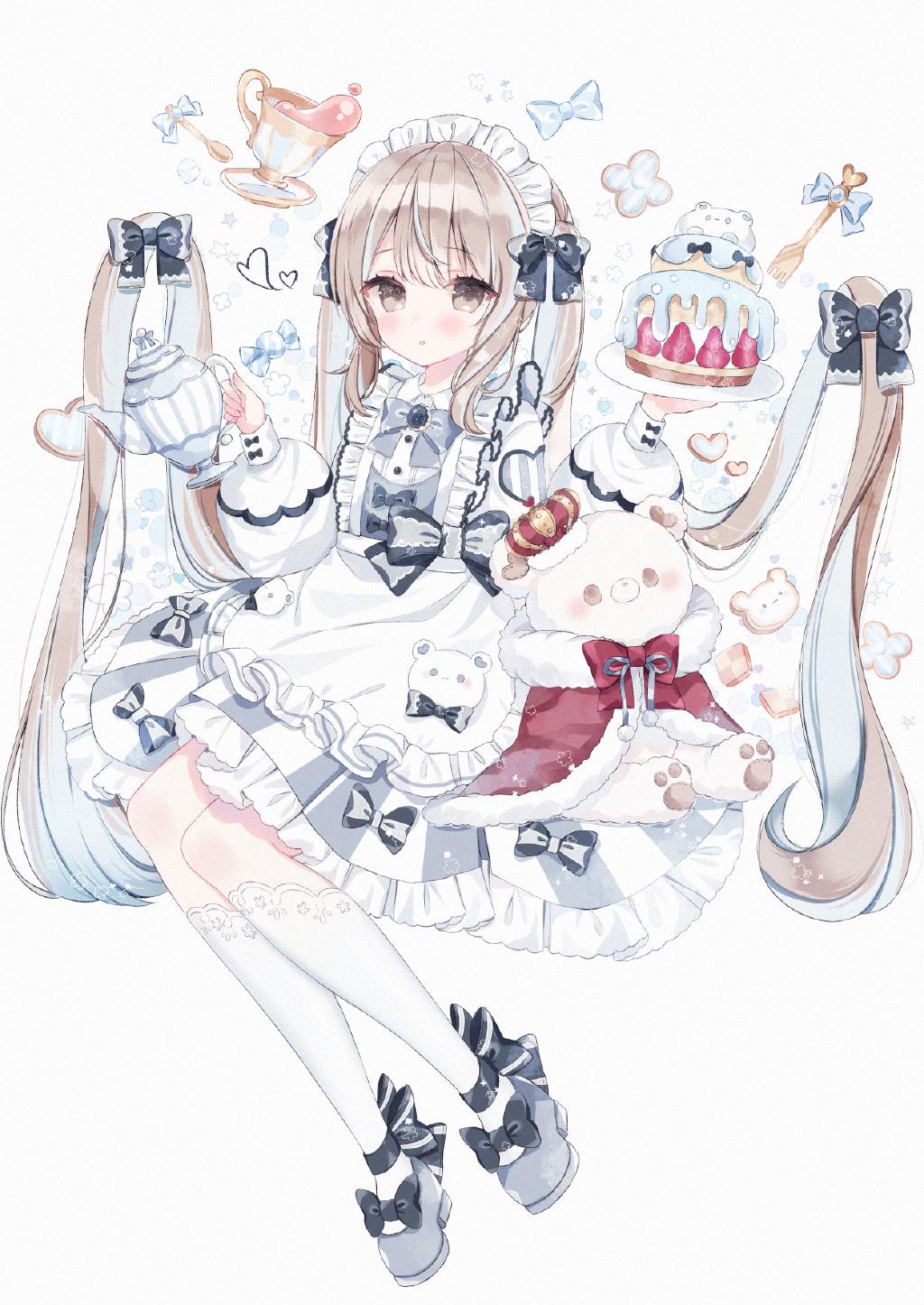 P站精选&萝莉与小裙子!日本画师マコミック的插画作品-Zhaiuu.Com-宅尤尤