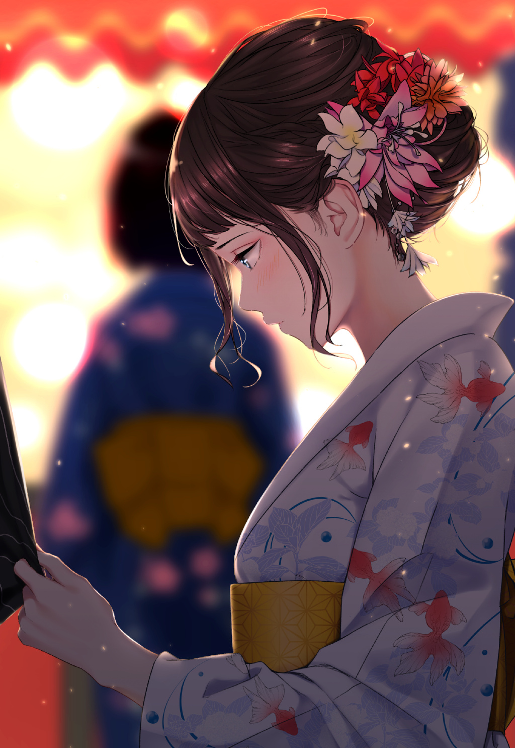 P站精选&黑丝、泪痣与眼镜娘!日本画师サイトー的插画作品-Zhaiuu.Com-宅尤尤