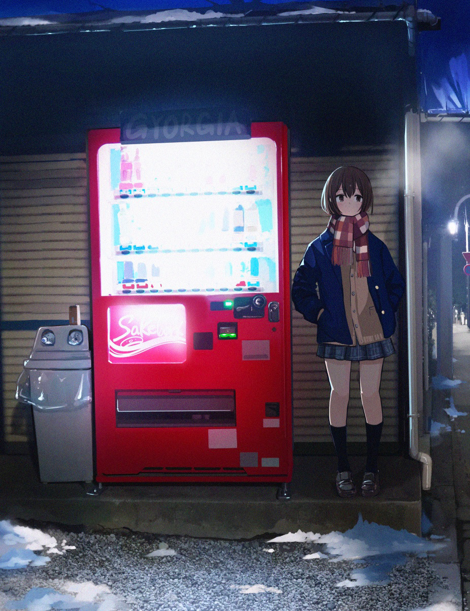 P站精选&JK、旅行与风景,日本画师さけハラス3号的插画作品-Zhaiuu.Com-宅尤尤