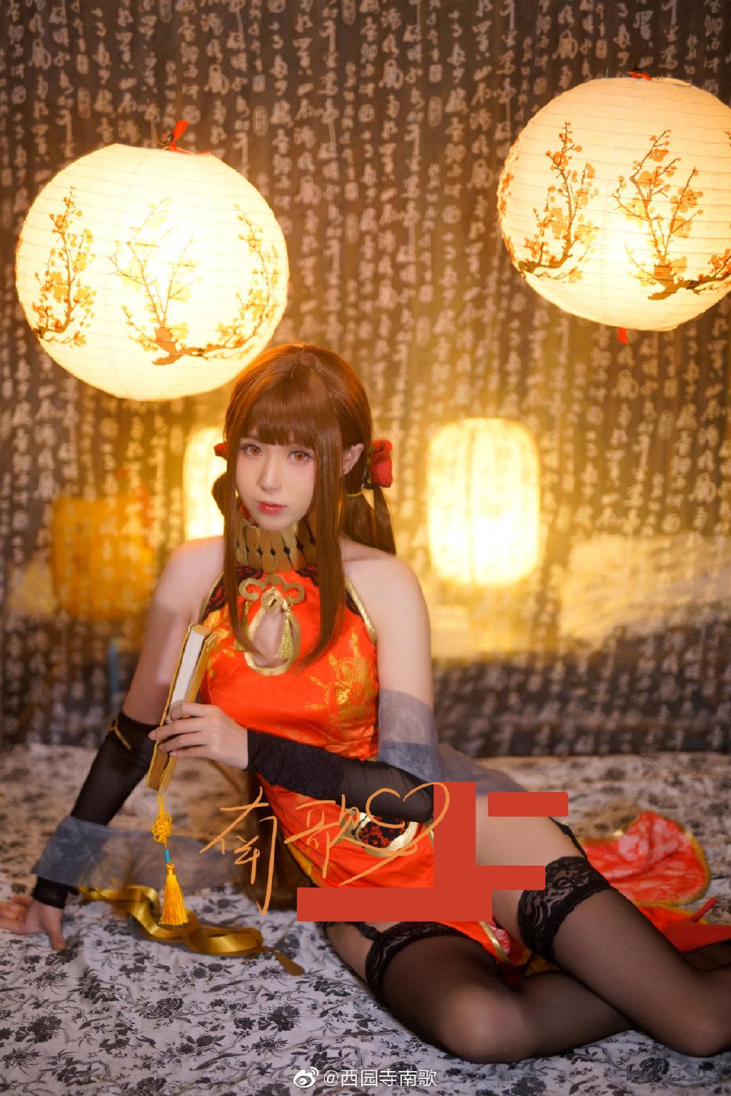 @西园寺南歌  少女前线 DSR-50红牡丹