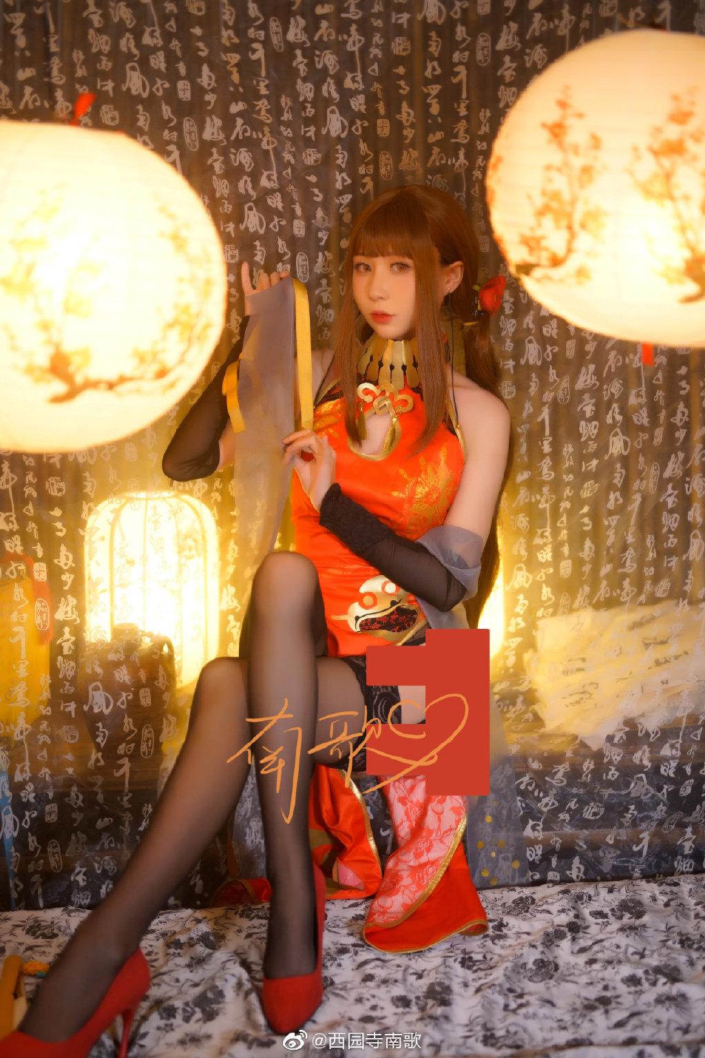 @西园寺南歌  少女前线 DSR-50红牡丹-觅爱图