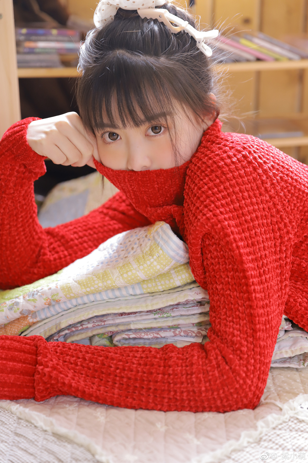 @-梁小萌 樱花妹小肉丸 附超清无水印图包 www.coserba.com整理发布