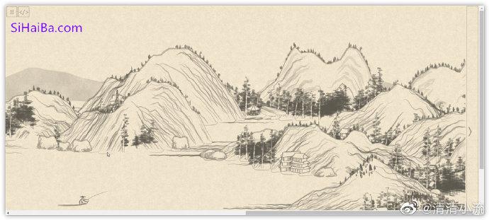 github上发现一个自动生成山水画的项目 技术控 第1张