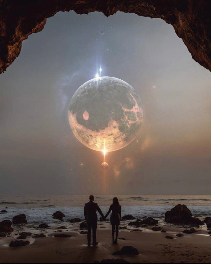 终极的浪漫在宇宙,银河系漫游指南概念图